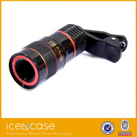 Hot selling mobile phone camera lens 8x universal telephoto lens 20x optical telephoto zoom lens for samsung galaxy s4