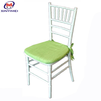 Wholesale cheap gold tiffany chair with white chair cushion