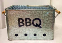 Charcoal BBQ Grill/ Bucket