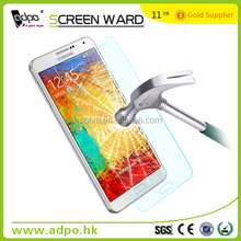 color tempered glass screen protector with best factory price for samsung sheet galaxy note 3