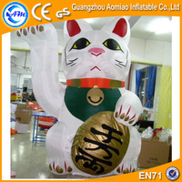 Cheap Japan inflatable Maneki Neko/inflatable fortune cat/inflatable lucky cat