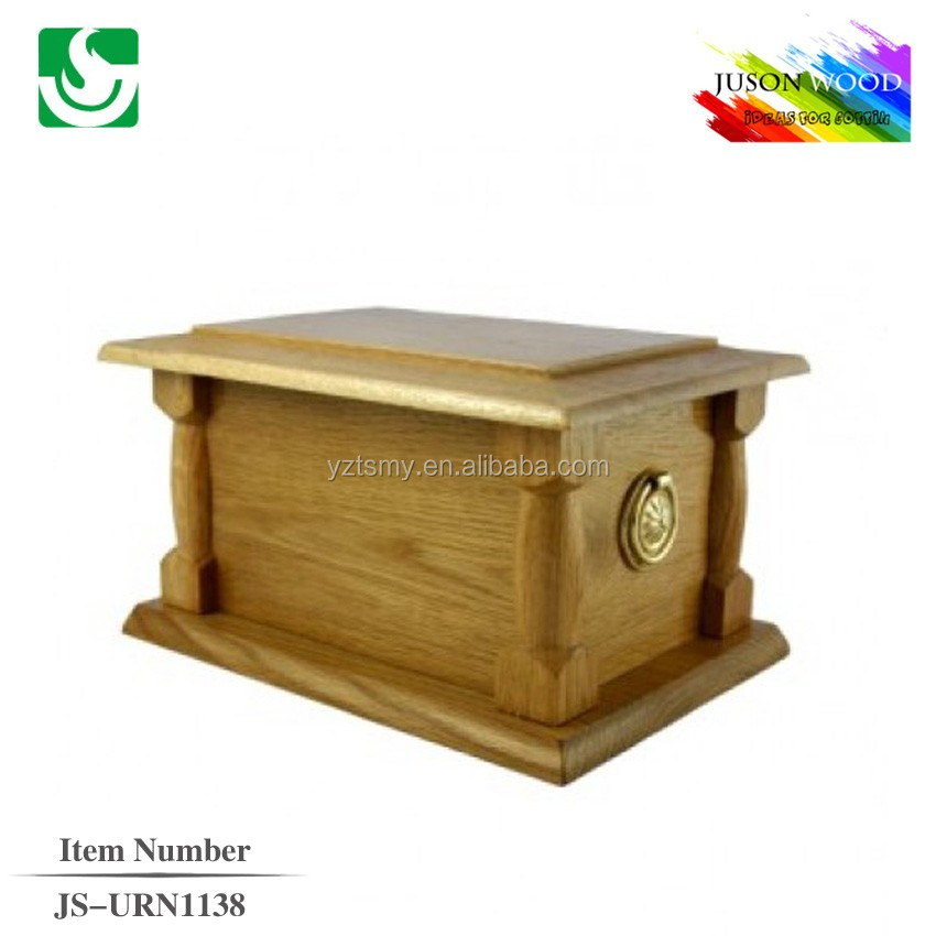 best selling wooden funeral urn for ashes