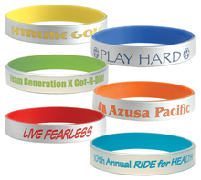 MA-1128 2013 Hot Sell Personlaized Silicone 8 Flashing Led Bracelet