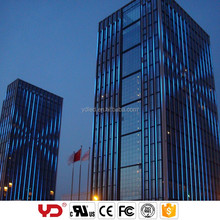 YD led programmable curtain light with GPS control for building decorative lighting