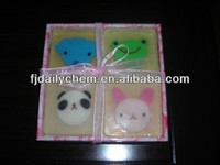 Transparent animal toy Soap with display box