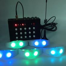 For Event/Concert Custom Silicone Flashing Light Programmable Remote Controlled Voice Sound Activated Control Led Bracelet