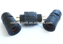 2 Channel Auto Electric Plastic Connector Plug