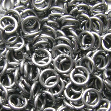 High quality metal Bright Silver aluminum jump rings