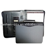 Portfolio with One Multifunctional Pocket and Handle
