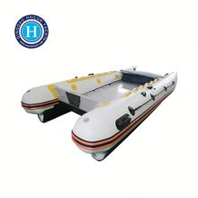 High speed inflatable boats catamaran HLK380 made in china