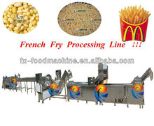 french fry potato chips making processing machines