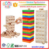 2017 High Quality Wooden Jenga Wholesale
