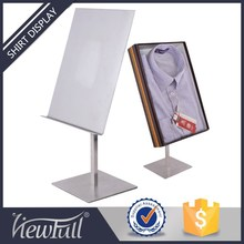 Metal shirt laundry display stand rack for garment