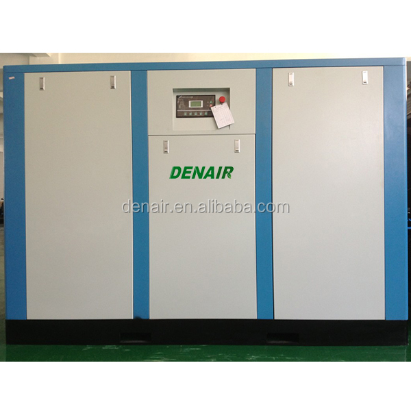 DENAIR 400KW super silent screw air compressor in Indonesia