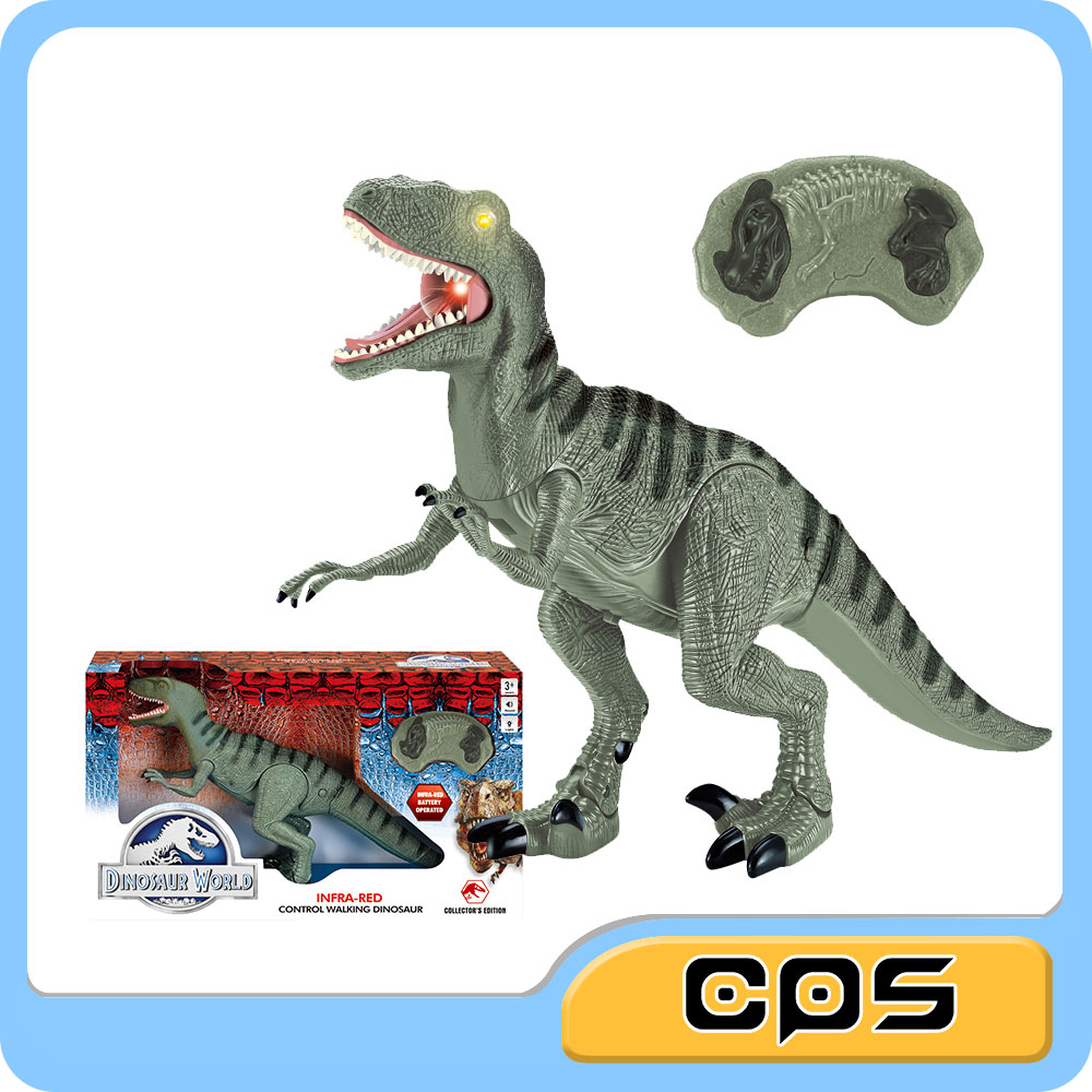 collector infrared remote control dinosaur with light and sound