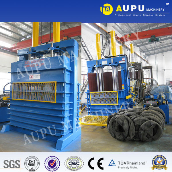 Y82-100LT used tire baler Recycling car tires