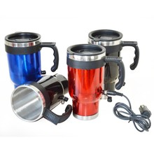 12V Heated Auto Mug,Auto Heated Stainless Steel Travel Mug,Wholesale Car Mug