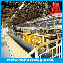 low cost gypsum board production line with operator training
