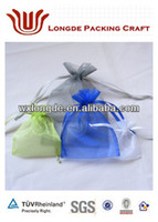 high quality organza bags/gift pouches/jewelry pouches
