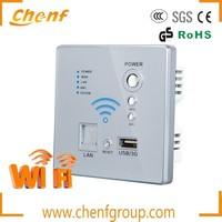 Newest High quality wall install modem USB 3g wireless wifi router