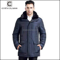 High Quality Fashion Custom Men Down Coats Wholesale Casual Winter Coat With Mink Coat