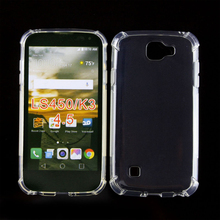 Anti-drop Full Clean Soft Skin Tpu Phone <strong>Protective</strong> Back Covers Case For LG K3 4G LS450 For LGLS450