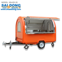Mobile Food Truck Ice Cream Cart Hot Dog Mobile Food Cart Food Trailers