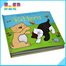 English Child book with sound effects cardboard child book in China