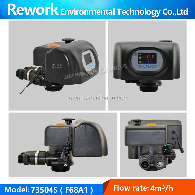 F68A1 4m3/h time clock regeneration auto multi-port valve for water softener