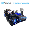 Zhuoyuan Best Selling Products six seats vr simulators with racing games and roller coaster