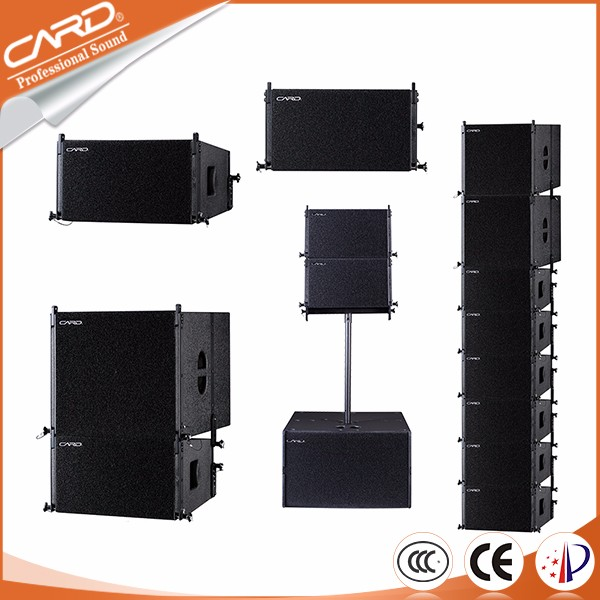 Compact size built in neodyminum speaker passive system 10'' line array hot sale