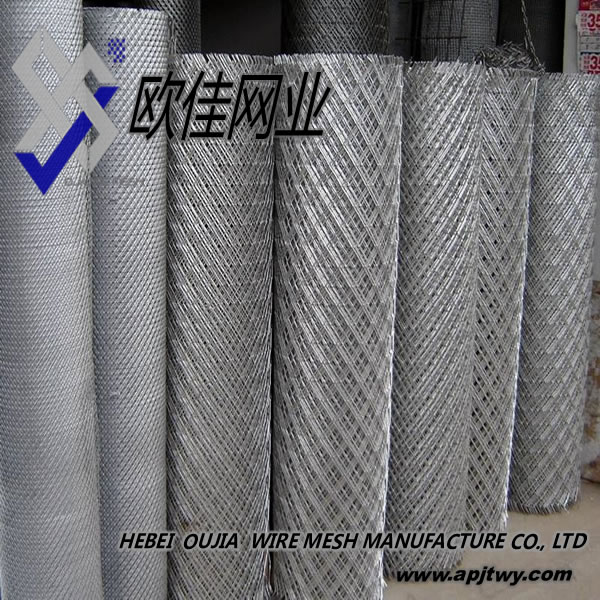 Flattened Expanded Metal Mesh