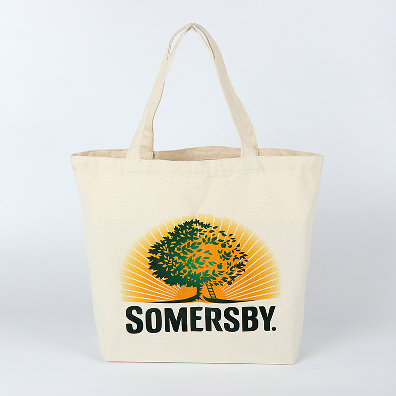 Recycled Eco Friendly 100% cotton promotional plain cotton bag