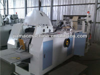 good price of Automatic high speed bread paper bag making machine used for food packaging