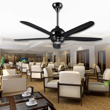 "56"" Modern ceiling fan remote control ceiling fan lamp with 5 ABS Plastic Blades"