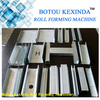 Light Steel Metal Stud&Track metal tile rolling machine, glazed tile roll forming machinery line