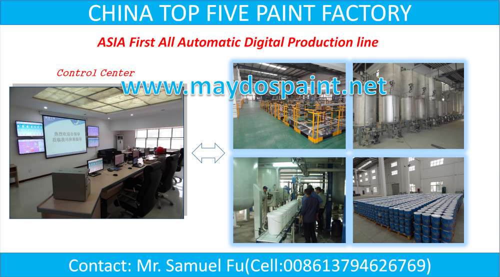 CHINA TOP FIVE PAINT FACTORY-Maydos Self Leveling Epoxy Flooring Coatings