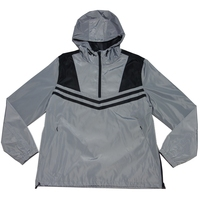 Fashionable wholesale men custom executive lightweight windbreaker jacket