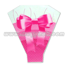 Custom plastic Wrapping for Flower Plastic Flower sleeve