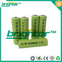 better than nicd 1300mah 9.6v nimh rechargeable battery pack aa