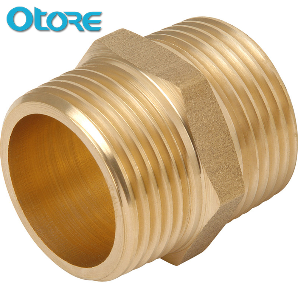 1/2 Male NPT To GHT Male Thread Brass Nipple <strong>Fittings</strong>
