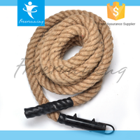 Crossfit Gym Power Training Safety Climbing Rope With Hook