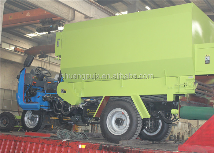 Agriculture Machinery Animal Silage Feeding Machine