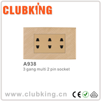 China Supplier electric wall switch socket electric switch socket bangladesh