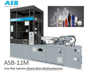 ASB - 12M Stretch Blowing Whiskey Bottle Making Machine