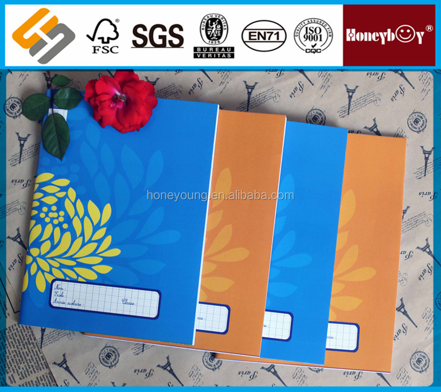 oem manufacturer custom printed stationery education book