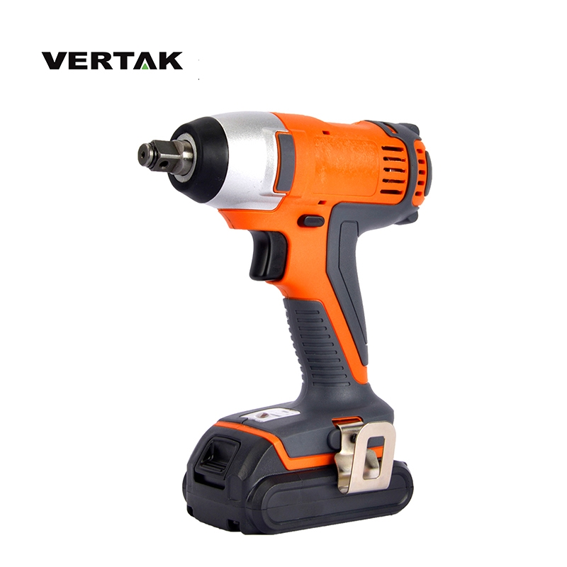 VERTAK Power Tools 18V Cordless Impact Wrench With 2000mAH Battery and Fast Charger