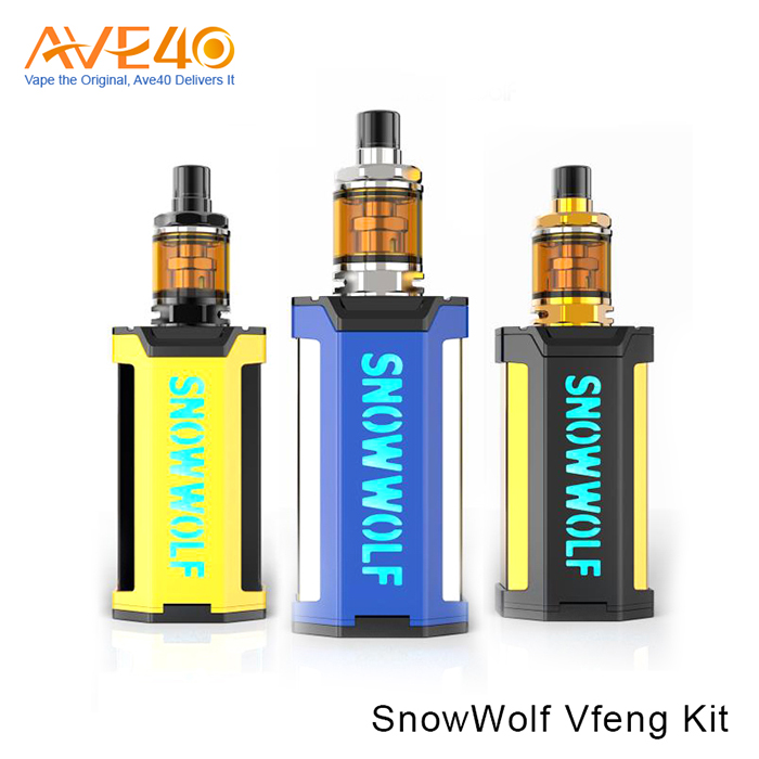 A New Innovation Sigelei SnowWolf Vfeng 230W TC Box Mod with Factory Price