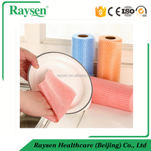 Medical spunlace nonwoven cloth reusable wipes