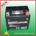 KOYAMA 12V6Ah Maintenance Free Motorcycle Scooter Lead Acid Battery